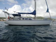 Dujardin Icofrance Atlantis 430 : Mouillage en Martinique